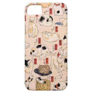 Cats suggested as the fifty three stations of the iPhone SE/5/5s case