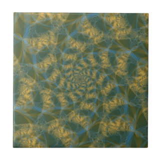 Cats Tails Spiral tile