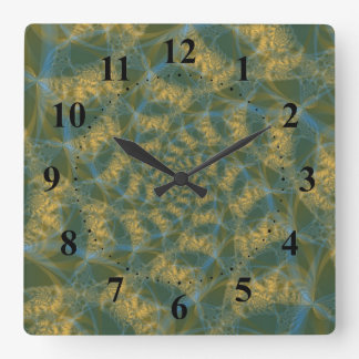 Cats Tails Spiral Wall Clock