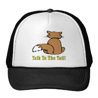 Cats: Talk To The Tail Trucker Hat