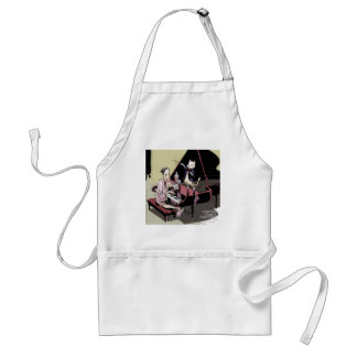 Cats That Take Over & Conduct Everything Funny Adult Apron