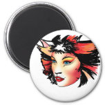 Cats the Musical, Bombalurina 2 Inch Round Magnet