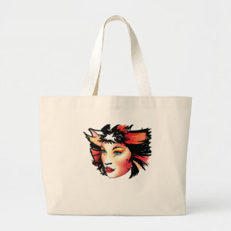 Cats the Musical, Bombalurina Large Tote Bag