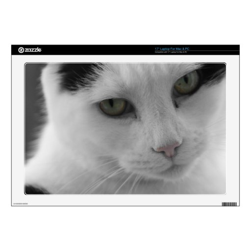 Cats Thoughts Skins For Laptops
