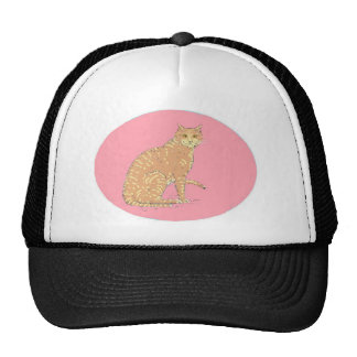 Cats, three, on varios products trucker hat