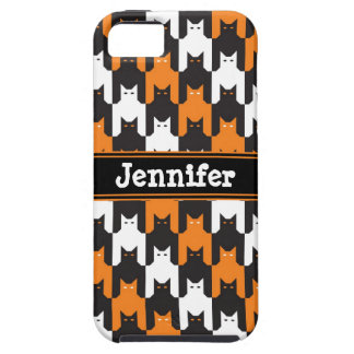 Cats Tooth Halloween Pattern iPhone SE/5/5s Case