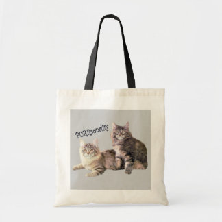Cats Tote Bag PURRsonality