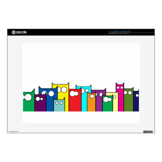 cats town decal for laptop