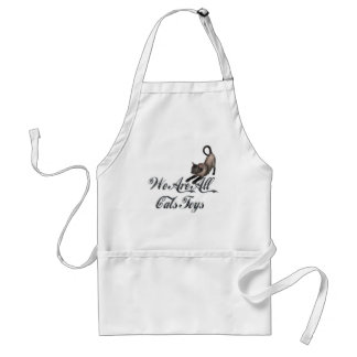 Cats Toys Adult Apron