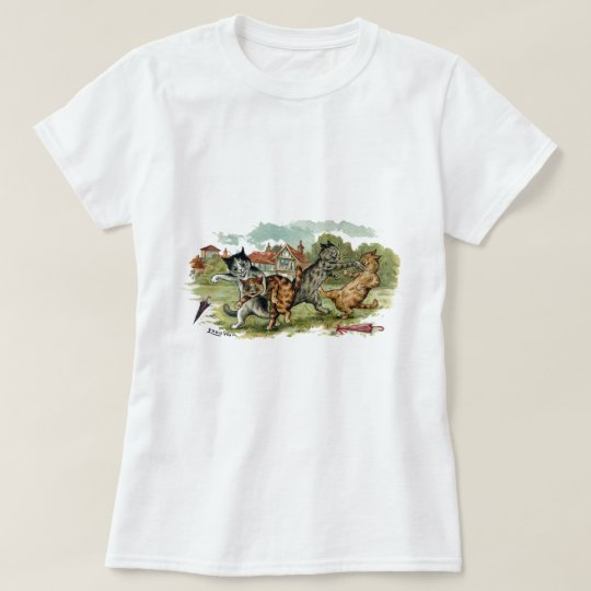 Cats Trade Punches T-Shirt