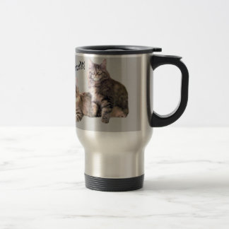 Cats Travel Mug PURRsonality