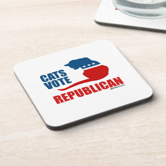 CATS VOTE REPUBLICAN DRINK COASTERS