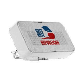 CATS VOTE REPUBLICAN iPod SPEAKERS