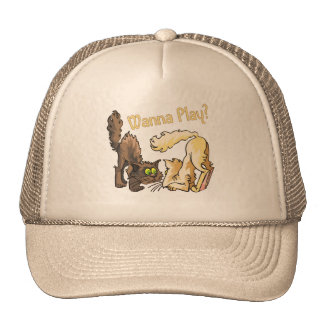 Cats Wanna Play Mesh Hat