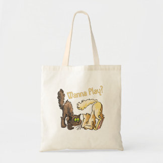 Cats: Wanna Play? Tote Bag
