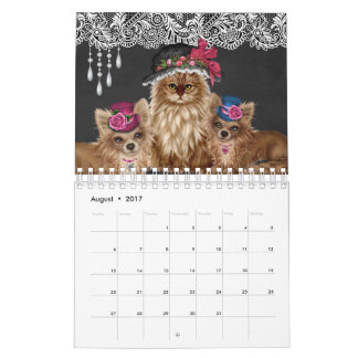 Cats Wearing Hats Calendar