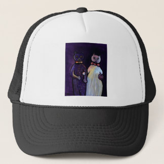 CATS WEDDING TRUCKER HAT