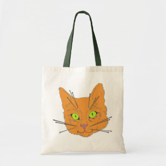 Cat's Whiskers Budget Tote Bag