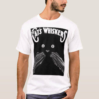 Cats Whiskers - Kitty Cat lovers Tees
