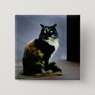Cats whiskers pinback button