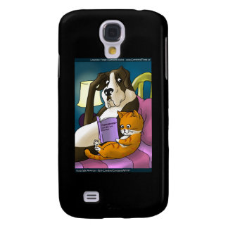 Cats Who Love Too Much Funny Gifts & Cards Samsung S4 Case