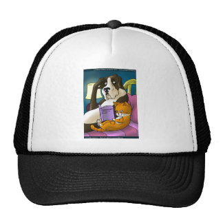 Cats Who Love Too Much Funny Gifts Tees & Cards Trucker Hat