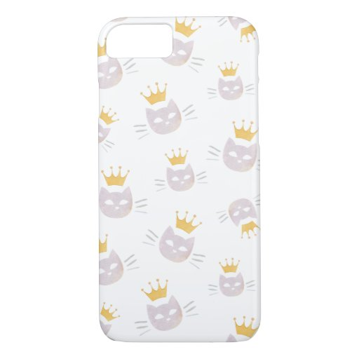Cats with Crowns Phone Case