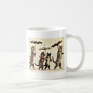 Cats With Umbrellas Coffee Mug