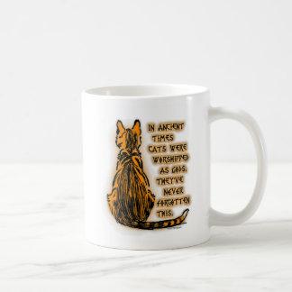 Cats Worshipped as Gods Coffee Mug