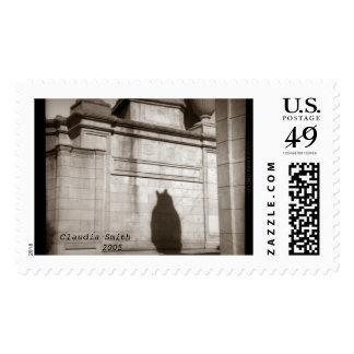 catshadowstamp,   Claudia Smith        2005 Stamp