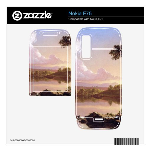 Catskill Creek by Frederic Edwin Church Decal For Nokia E75