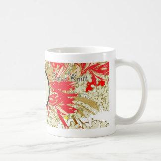Cats'n Knitt Classic White Coffee Mug