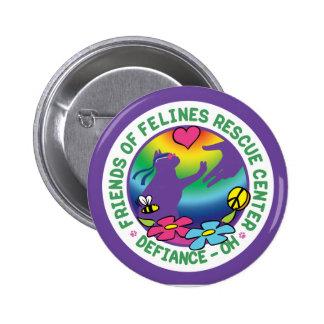 Catstock3 - botón 2014 del logotipo pins