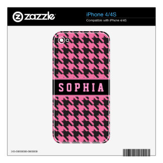 CatsTooth Pattern iPhone 4 Skins