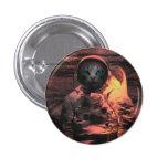 catstronaut 1 inch round button
