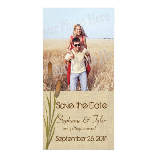 Cattail Lake Save the Date Photo Cards