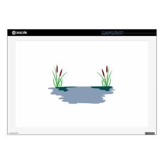 Cattail Scene Skins For Laptops