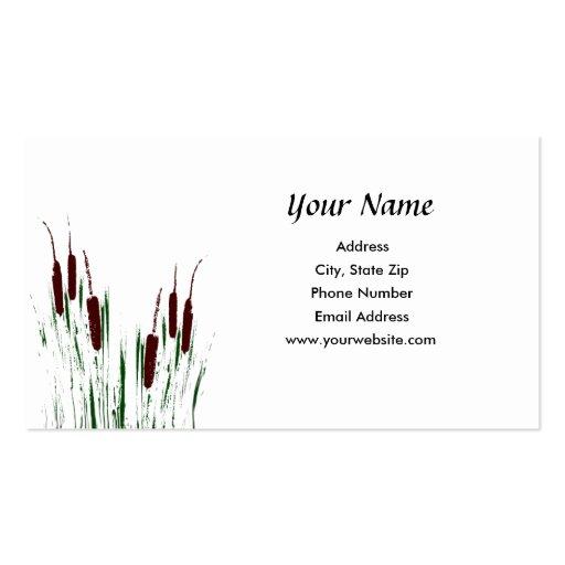 Cattails Business Card