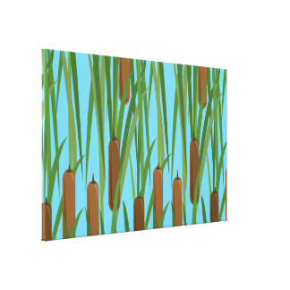 Cattails Gallery Wrap Canvas