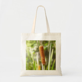 Cattails In The Summer Marsh Tote Bag