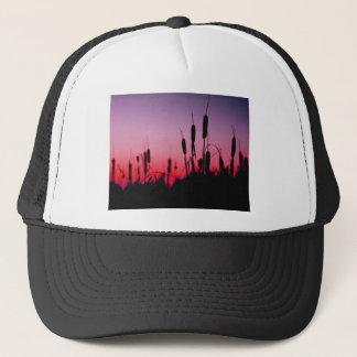 Cattails in the Sunset Trucker Hat