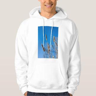 cattails of winter hoodie