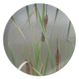 Cattails Plate
