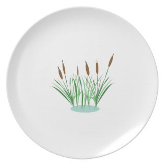 Cattails Plate