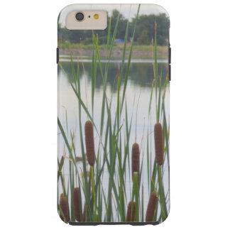 Cattails por el caso del iPhone del lago Funda Para iPhone 6 Plus Tough