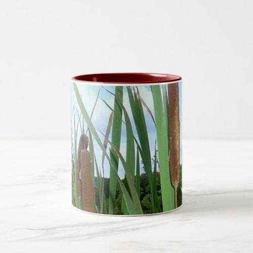 Cattails Stand Guard Coffee Mugs