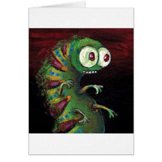 cattapillar tall.jpg greeting card