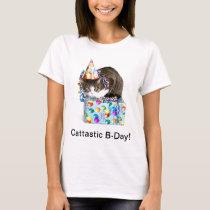 Cattastic Birthday T-Shirt