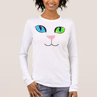 CATTE (two-colour eyes) Long Sleeve T-Shirt