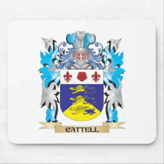 Cattell Coat of Arms - Family Crest Mouse Pad